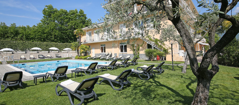 Schwimmbad Hotel Panoramica Salò am Gardasee